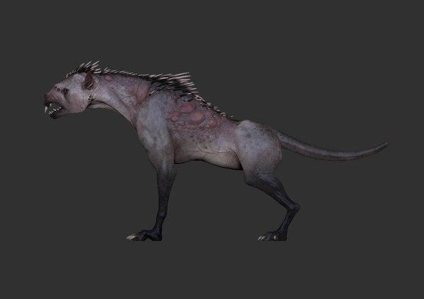 chupacabra 3D model