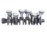 V12 Engine Cylinders