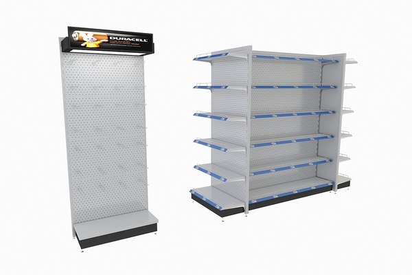 supermarket retail shelf display model