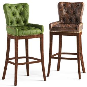 loftdesigne stool 2027 3863 3D model