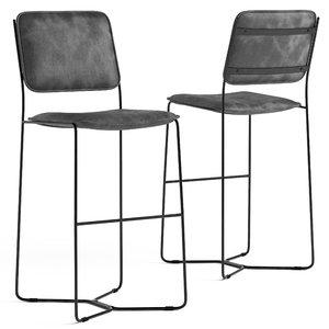 3D loftdesigne stool 2035 seat