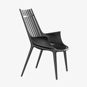 chair easy ibiza vondom 3D model