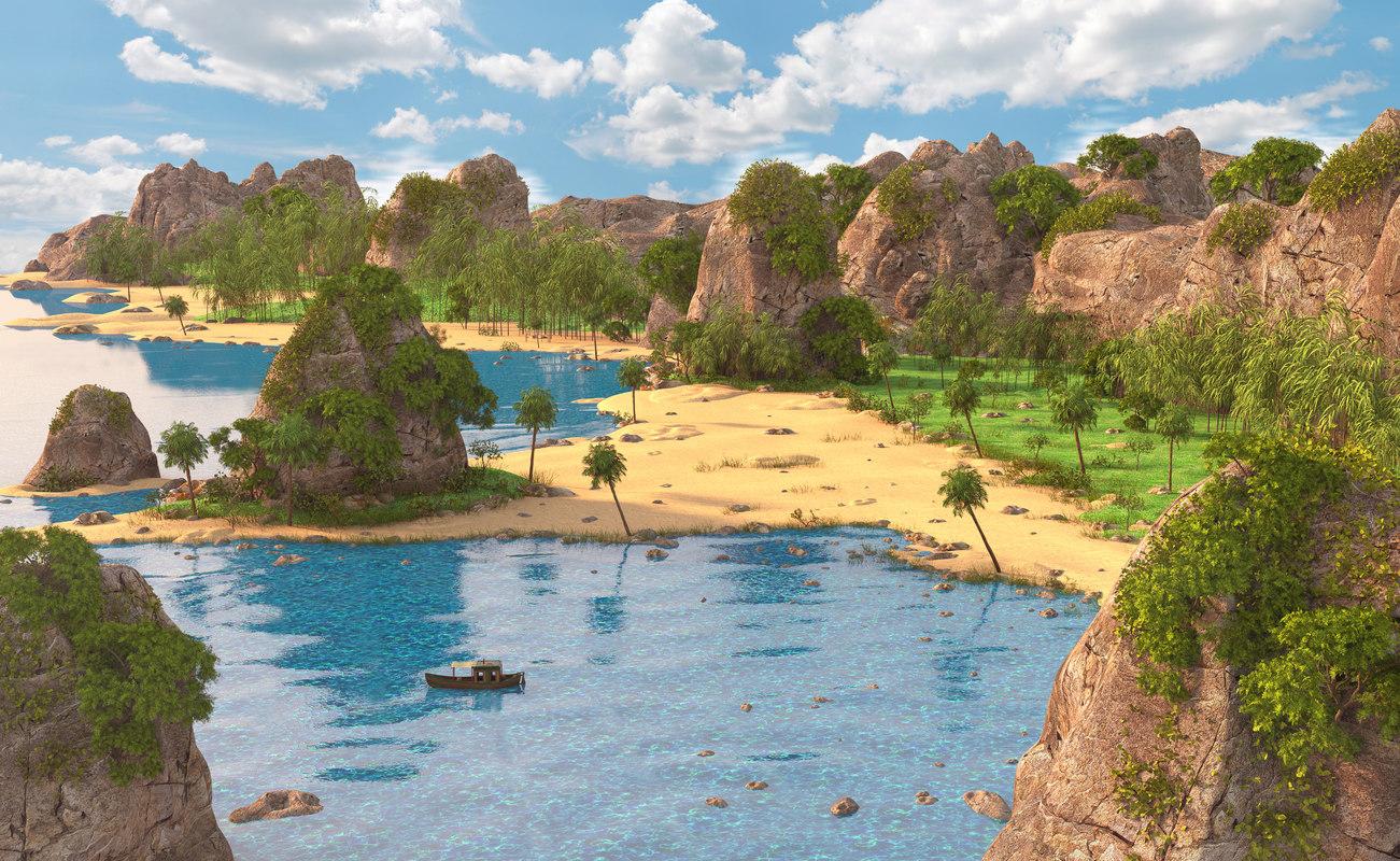 thailand sea 3D