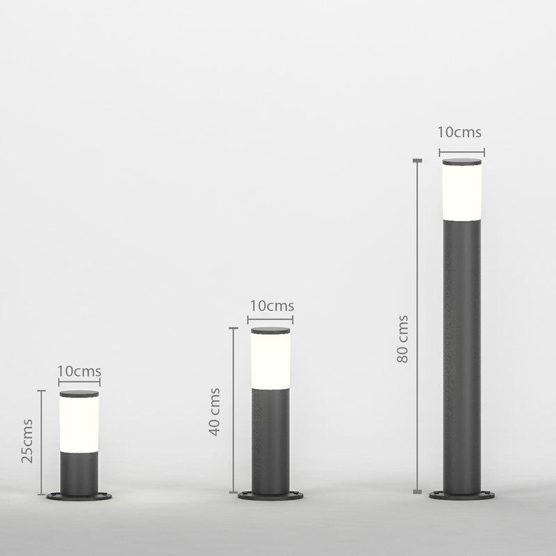 lamp ground amelia 3 3D