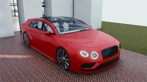car 4 blender eevee 3D