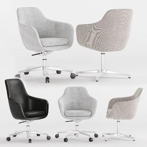 chair herman miller 3D