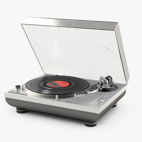technics turntable 3d lwo