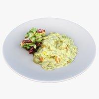 lunch plate model