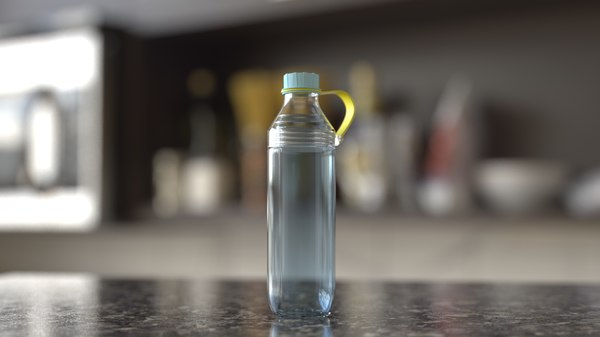 realistic bottle model