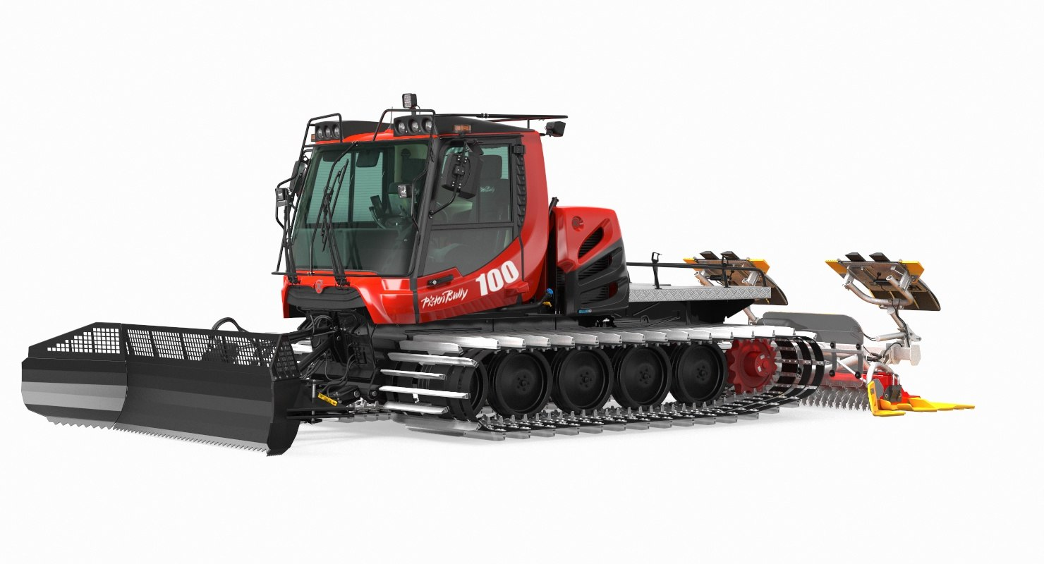 Snowcat PISTENBULLY 100 Clean Rigged