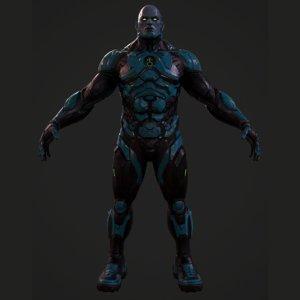 game sci-fi model