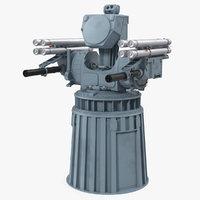 3D naval air defence pantsir-me