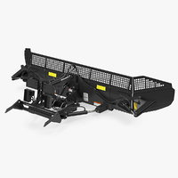 snowplow snow rigged model