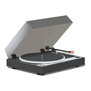 turntable 3D model