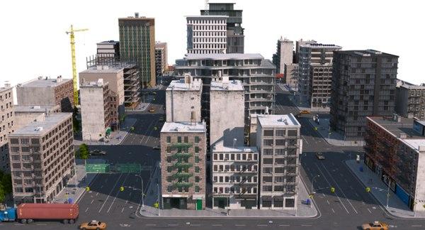 city a1 3D model
