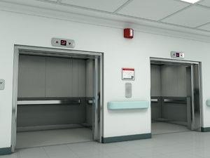 scene elevator 3D