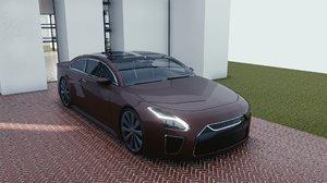 car blender eevee 2 model