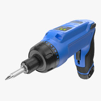 gyroscopic screwdriver generic screws 3D model