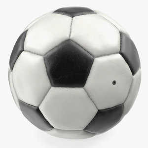 leather soccer ball model