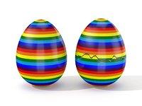 Easter Egg Cracked N002