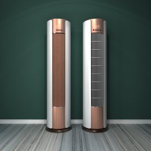 standing air conditioner 5 3D model