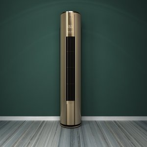 standing air conditioner 4 3D