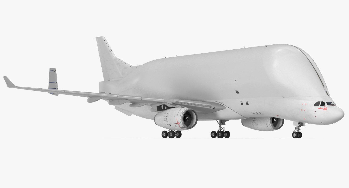 large cargo aircraft air 3D model