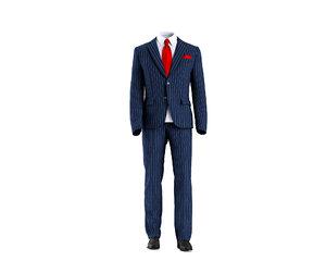 3D model men suit