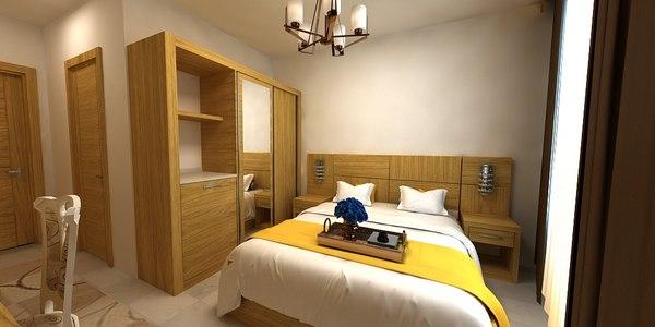 hotel antalya 3D model