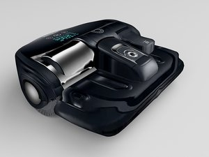 robot vacuum cleaner 3D