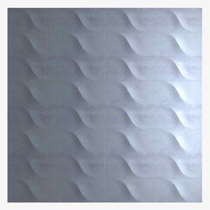 3D wall panel ice designers model