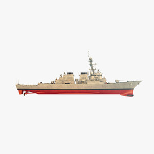 uss donald cook ddg 3D model