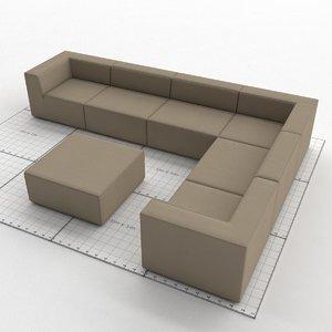 divino lounge spa 3D model