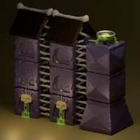 stone wall dungeon mobile game