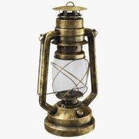 kerosene lantern modeled 3D model