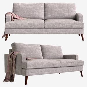 3D model sofa hewitt