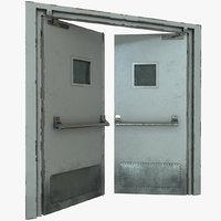 hospital doors 3D model