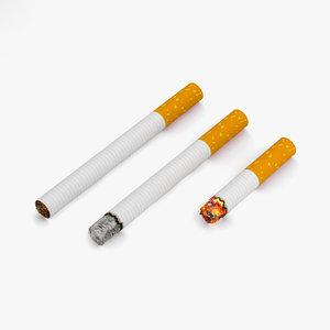 cigarette smoke 3D