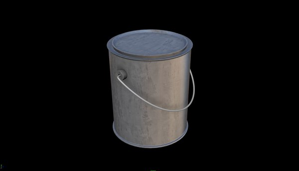 paint box 3D model