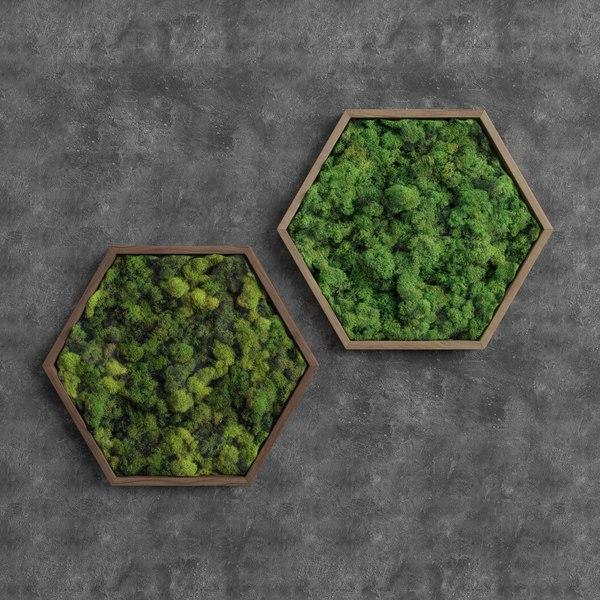 3D decorative moss