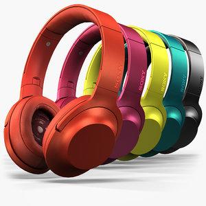 3D sony mdr-100aap headphones