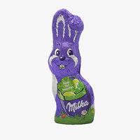 3D model milka chocolate bunny