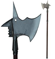 Medieval Battle Ax Low Mid High Poly