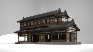 ancient architectural shop 3D model