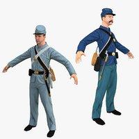 confederate soldier union model