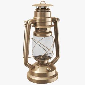 kerosene lantern 3D model