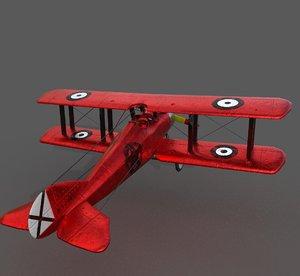 e1 plane 3D