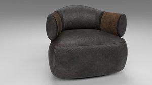 larzia chair 3D model