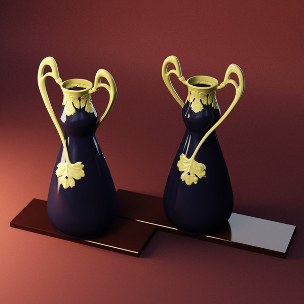 3D decoration vase model