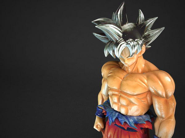3D goku ultra instinct model